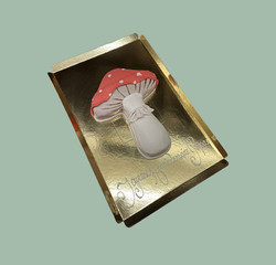 Gâteau d'anniversaire champignon