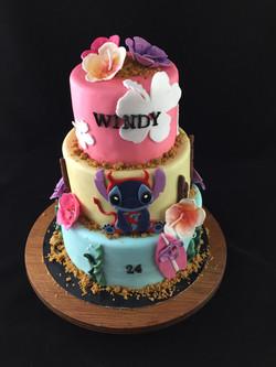 Gâteau d'anniversaire Stitch