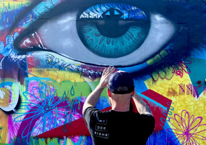 My Dog Sighs in Miami