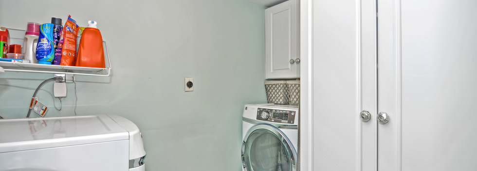 93 Taylor Street - Unit 2 - Waltham MA - Laundry - The Madden Team at Berkshire Hathaway Commonwealth Real Estate - Condo for Sale