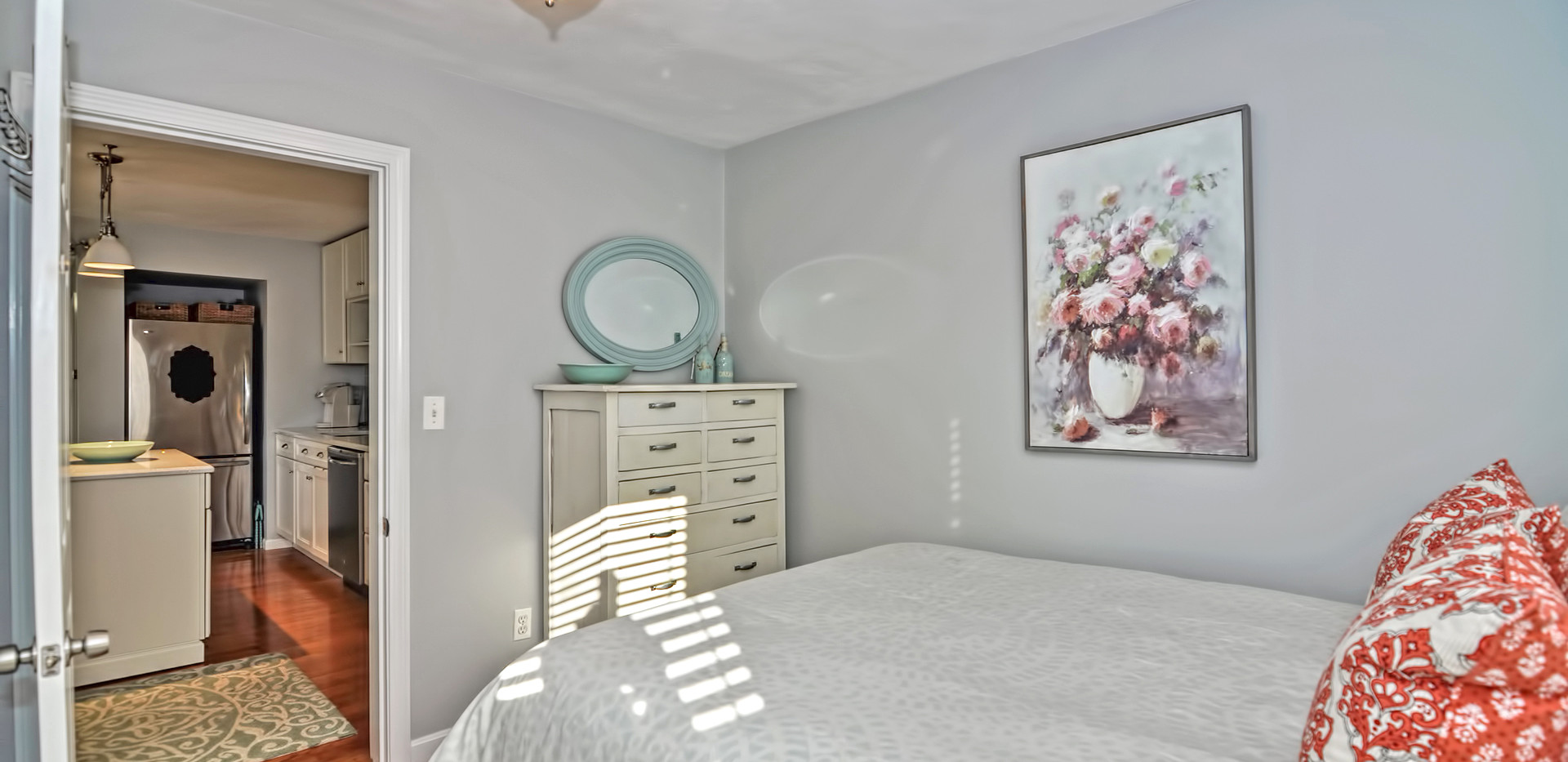 93 Taylor Street - Unit 2 - Waltham MA - Back Bedroom - The Madden Team at Berkshire Hathaway Commonwealth Real Estate - Condo for Sale