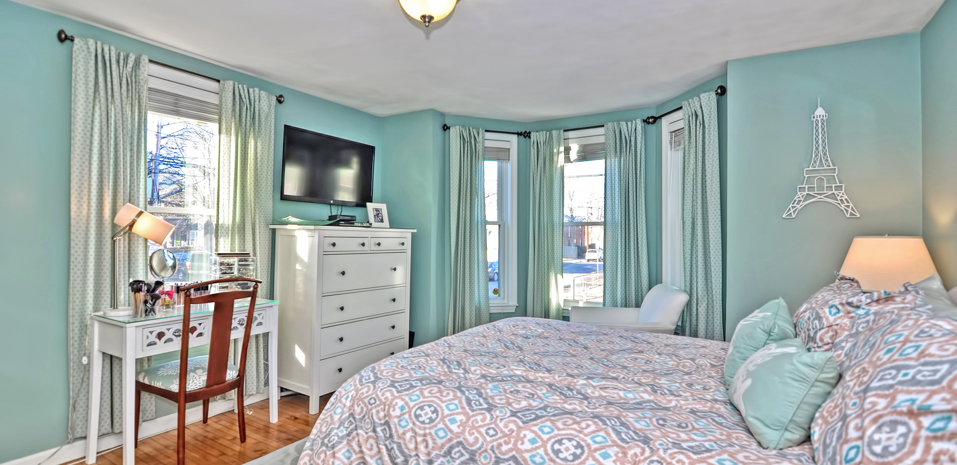 93 Taylor Street - Unit 2 - Waltham MA - Front Bedroom - The Madden Team at Berkshire Hathaway Commonwealth Real Estate - Condo for Sale