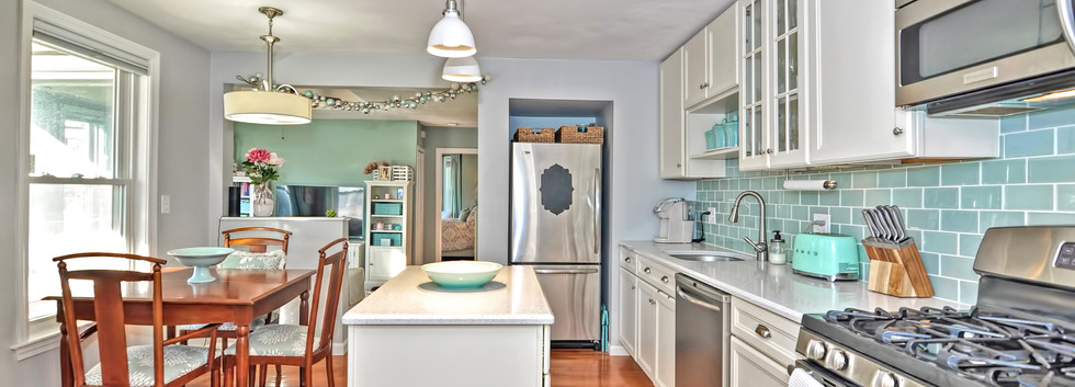 93 Taylor Street - Unit 2 - Waltham MA - Kitchen - The Madden Team at Berkshire Hathaway Commonwealth Real Estate - Condo for Sale