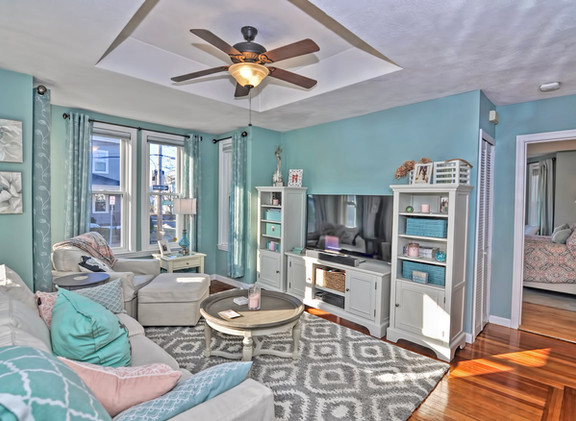 93 Taylor Street - Unit 2 - Waltham MA - Living Room - The Madden Team at Berkshire Hathaway Commonwealth Real Estate - Condo for Sale