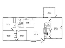 Floor Plan - 16 Elm Court Maynard
