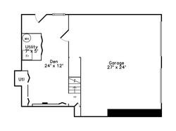 152 Neponset Street - Basement Plan