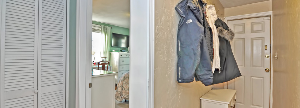 93 Taylor Street - Unit 2 - Waltham MA - Front Hallway - The Madden Team at Berkshire Hathaway Commonwealth Real Estate - Condo for Sale