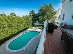 152 Neponset Street - Deck & Pool
