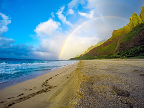 Rainbow over Na Pali, Kauai Hawaii.jpg