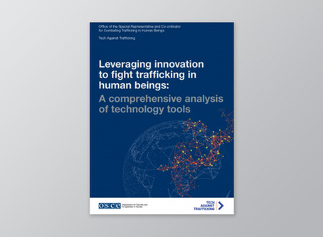 Leveraging innovation to fight trafficking in human beings: a analysis of technology tools