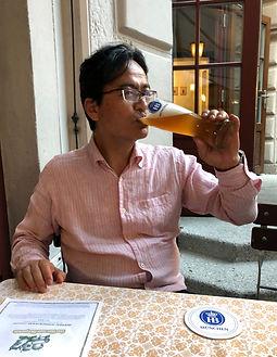 もちろん、飲むことも好きです!