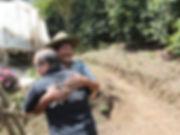 ホンジュラス オコティージョス農園主との感動の再会