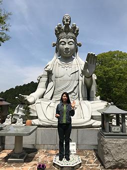 壺阪寺にて
