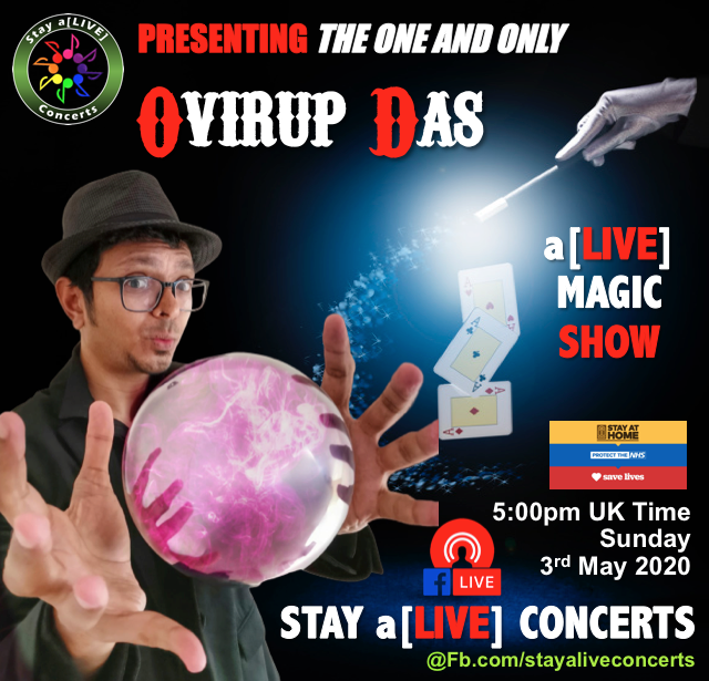 Ovirup Das, Magician, London