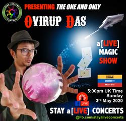 Ovirup Das, Magician, London