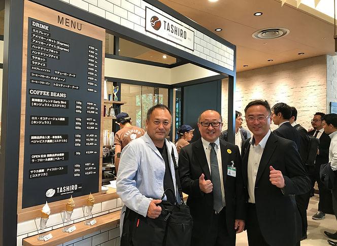 阪神梅田本店に「TASHIRO COFFEE ROASTERS」を新規出店