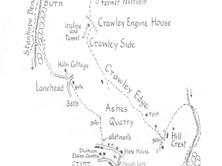 Stanhope to Stanhope Dene & Crawley Edge