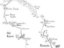 Rievaulx Abbey to Murton Grange & Old Byland