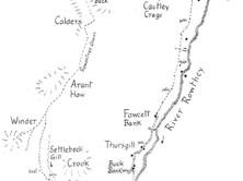 Cautley to Howgill Fells & Sedbergh