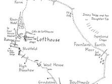 Lofthouse to Fountains Earth Moor & Ramsgill