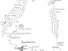 Osmotherley to Chequers, Scarth Nick & Mount Grace Priory
