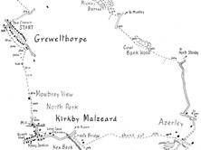 Grewelthorpe to Kirkby Malzeard & Hackfall