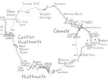 Carlton Husthwaite to Coxwold & Beacon Banks