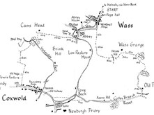 Wass to Byland Abbey and Coxwold