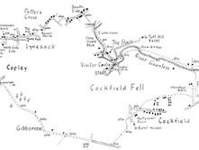 Cockfield Fell to Copley & Lynesack