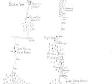 Scawton to Byland & Rievaulx Abbeys
