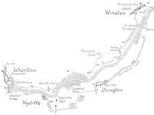Winston to Whorlton in Teesdale