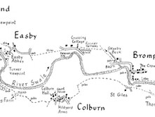 Richmond to Catterick Bridge & Easby