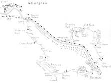 Wolsingham to Knitsley Fell & Low Harperley