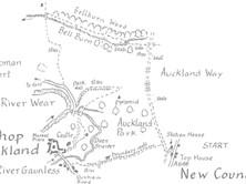 New Coundon to Vinovia & Bishop Auckland