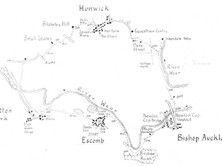 Escomb to Hunwick & Bishop Auckland
