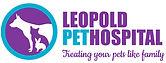 Leopold Pet Hospital logo with tag web.j