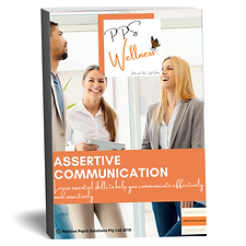 eBook cover promo assertive communicatio