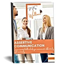 eBook cover promo assertive communicatio
