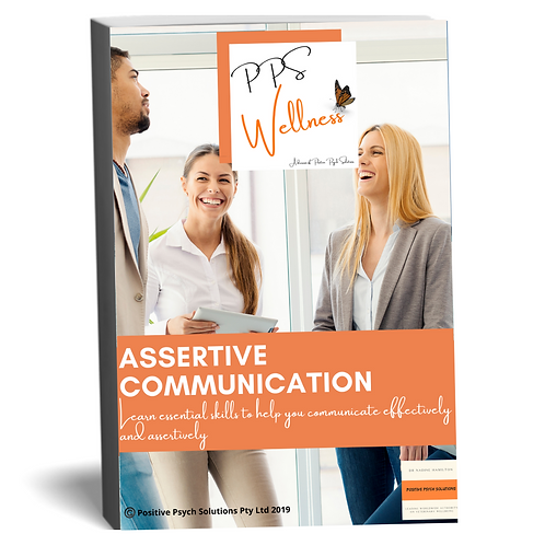 Getting your message across effectively and assertively