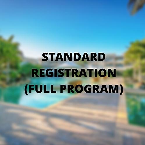 Standard conference registration