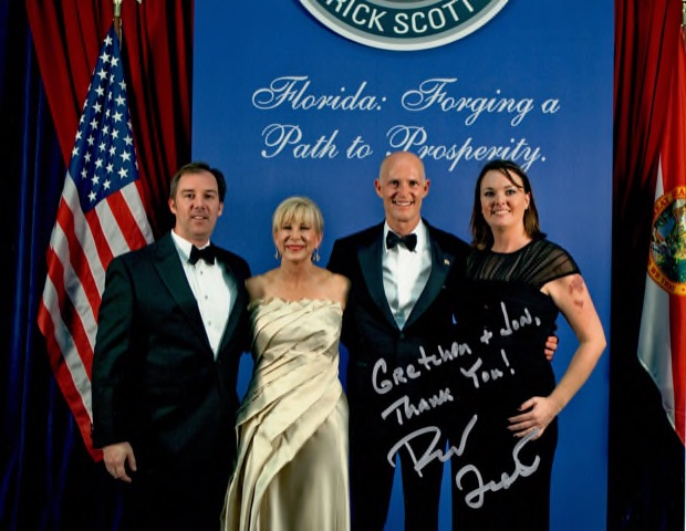 Governor Rick Scott.   Shealah Craighead Photography
