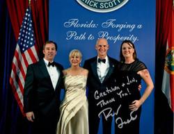 Governor Rick Scott.   Shealah Craighead Photography