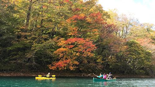 北海道獨木舟暢遊支笏湖和定山溪