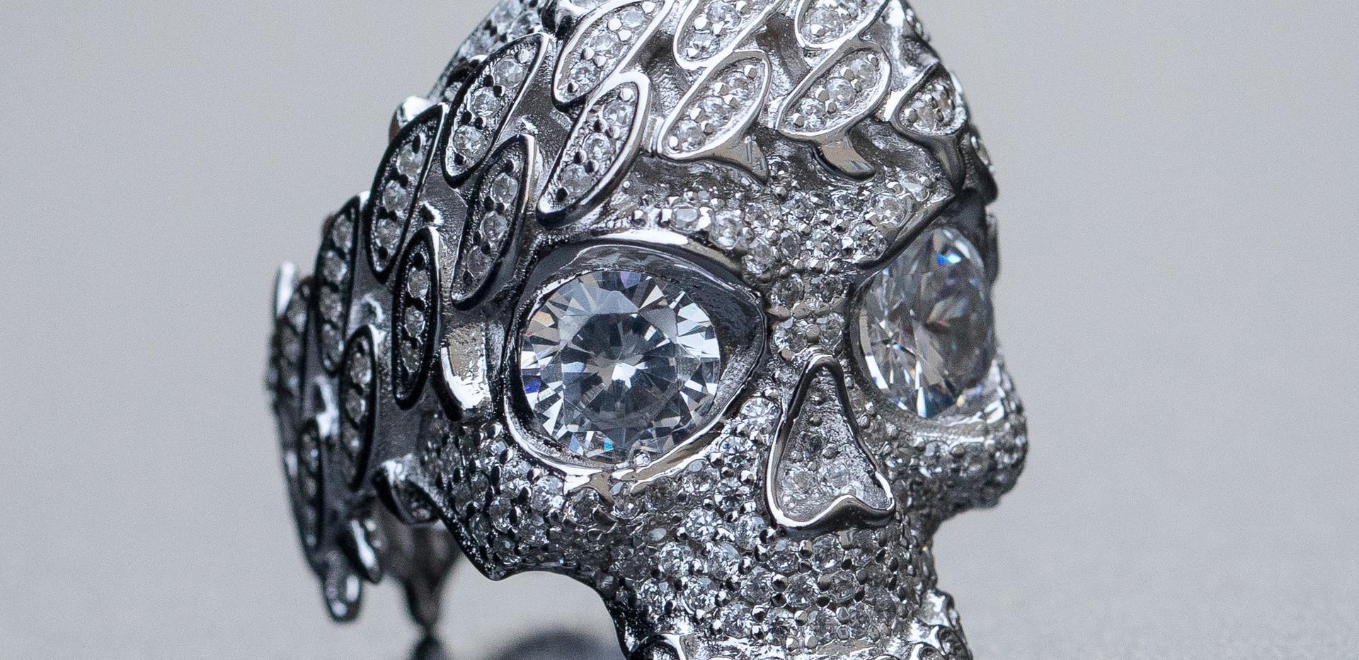 Skull Ring Designed By. Tim Da Jeweler