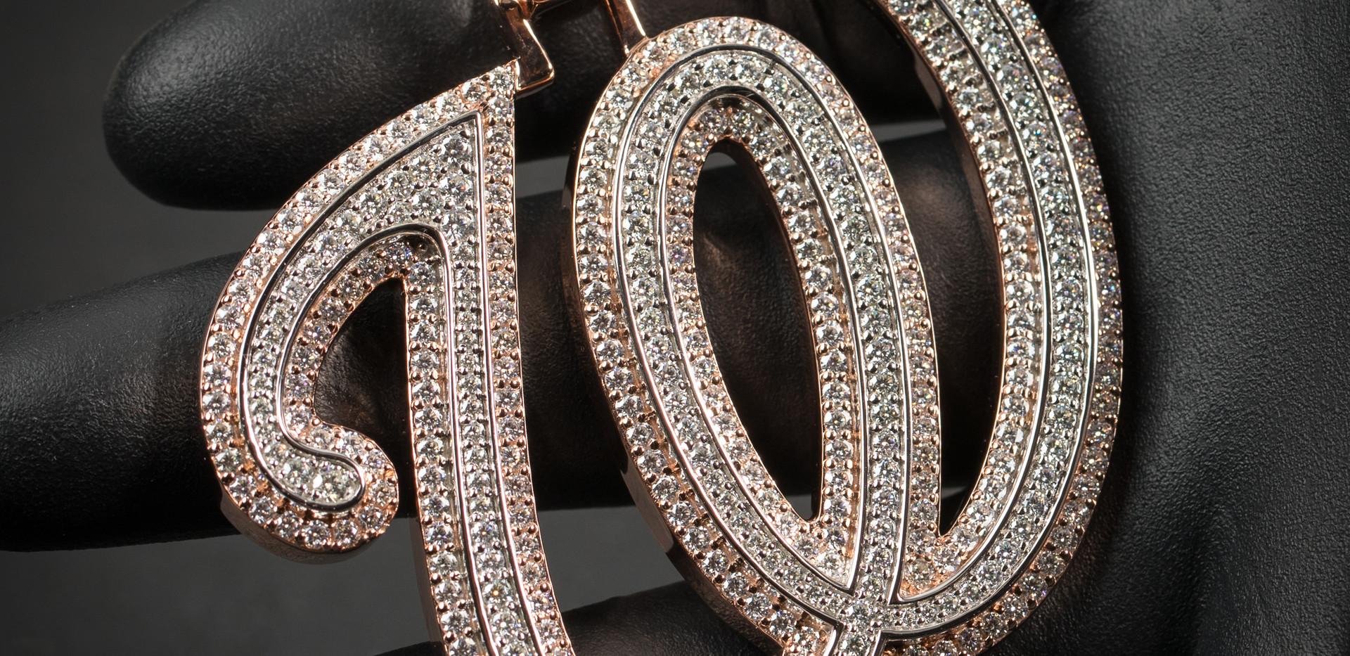 W Pendant Designed By. Tim Da Jeweler