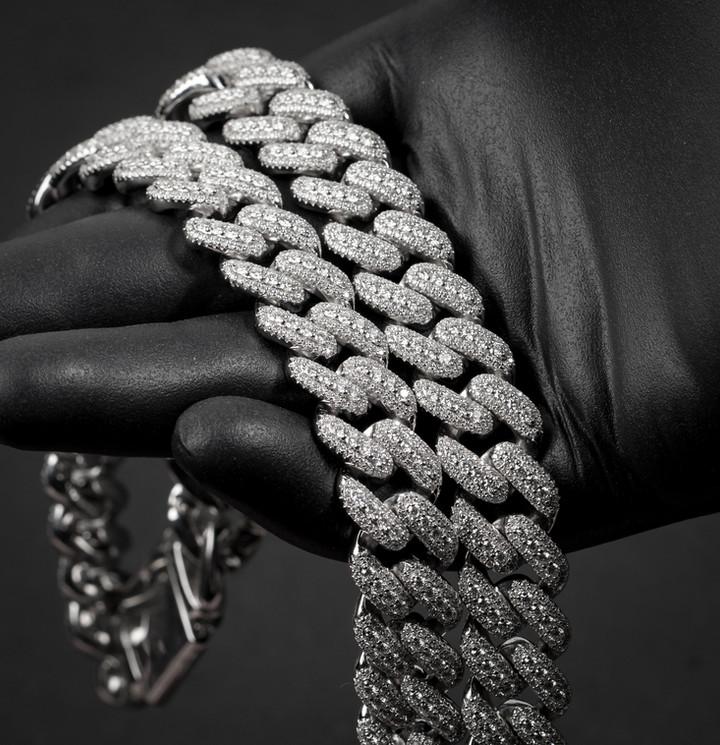 Pointer Miami Cuban Designed By. Tim Da Jeweler