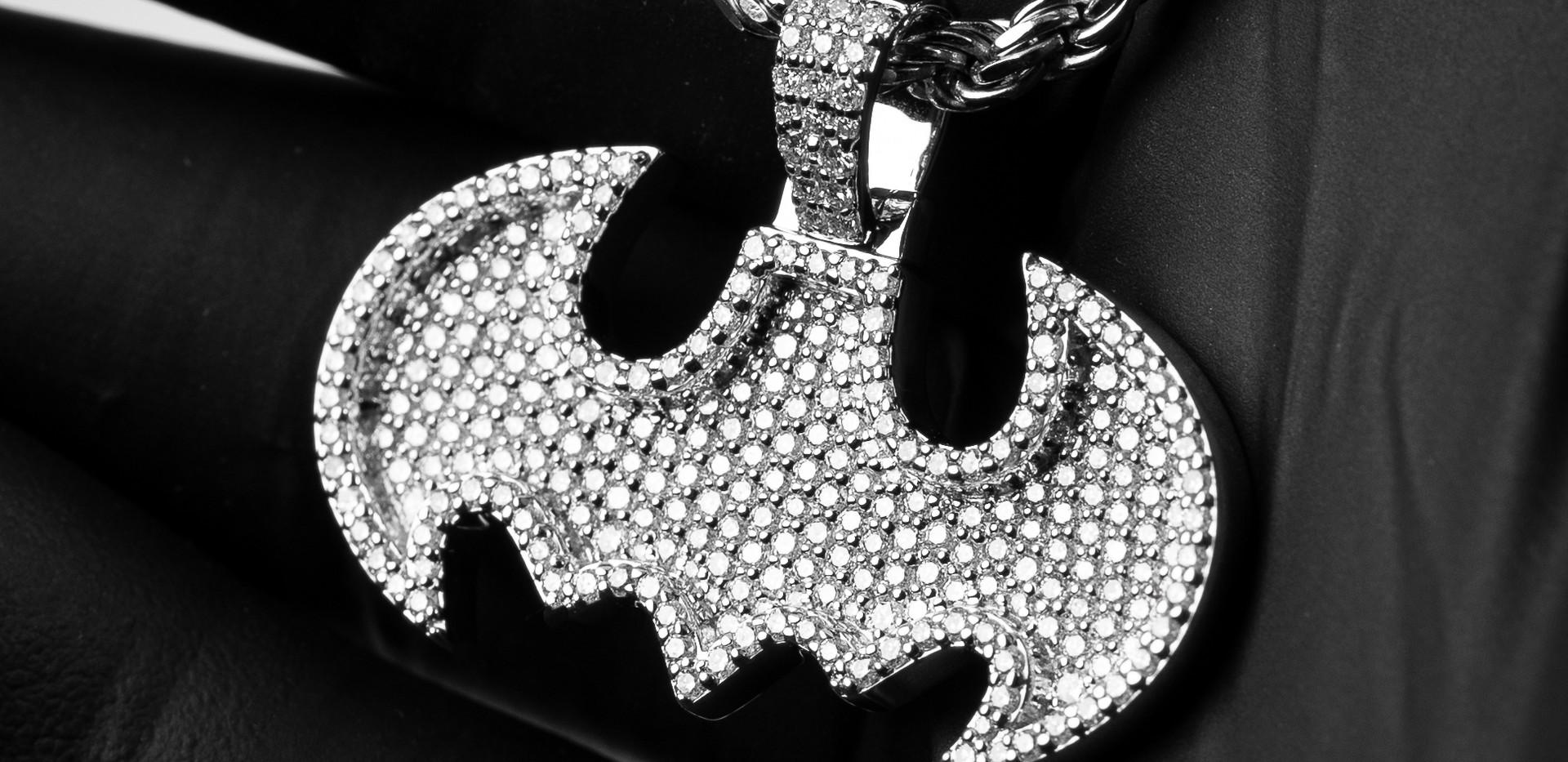 Custom Batman Pendant