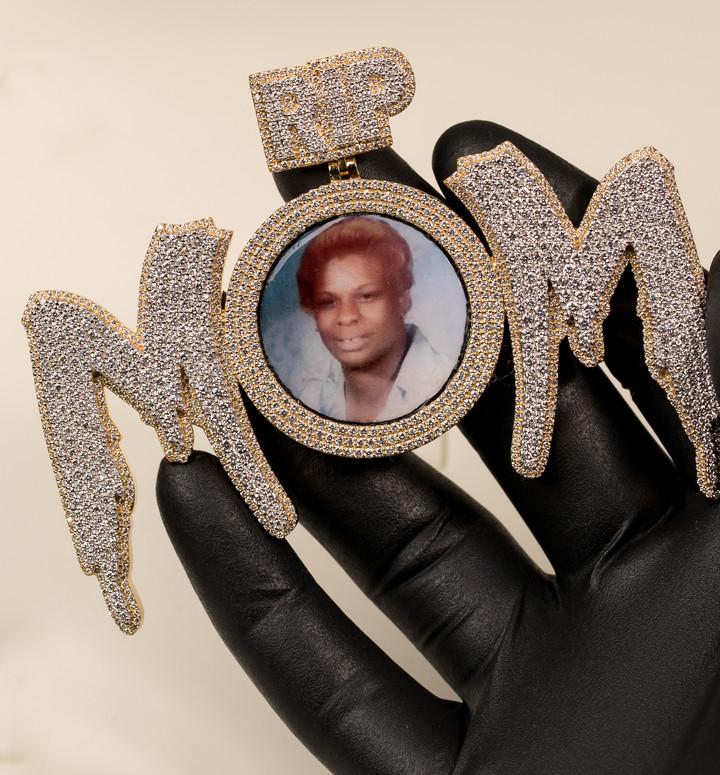 Mom Memorial Piece Designed By. Tim Da Jeweler