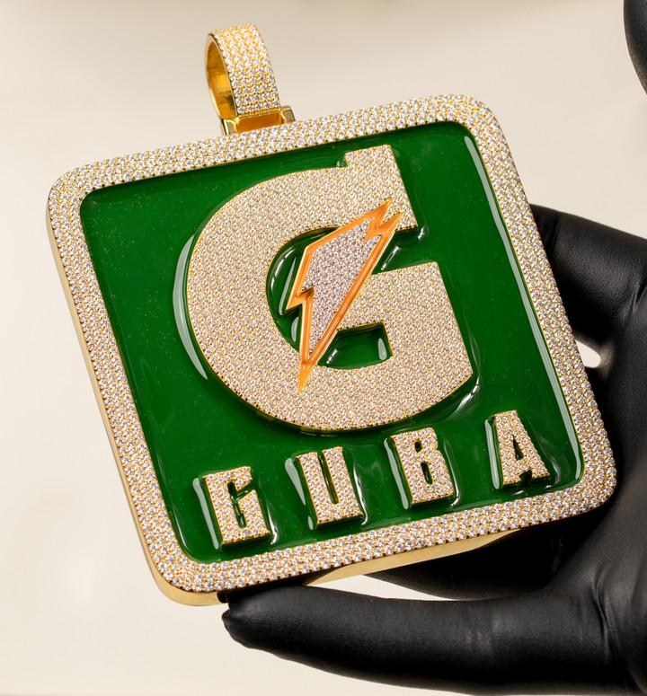 Guba Pendant Disigned By. Tim Da Jeweler