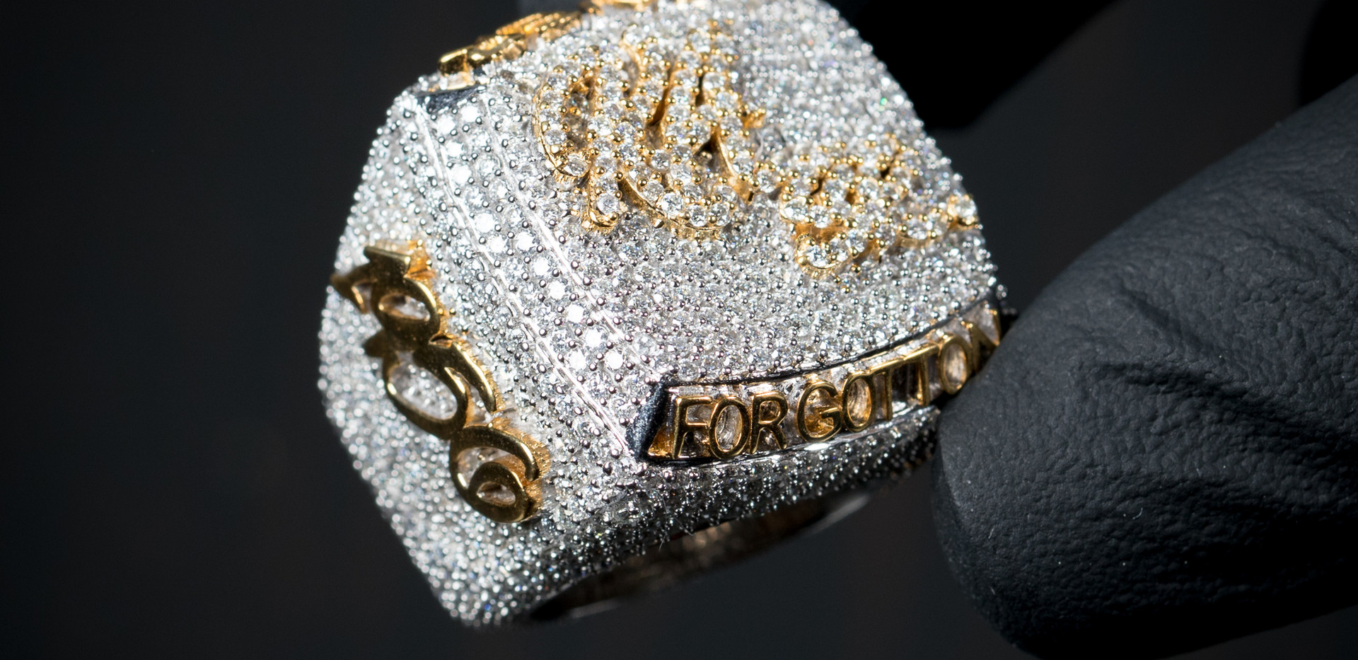 Two Tone Gold Championship Ring